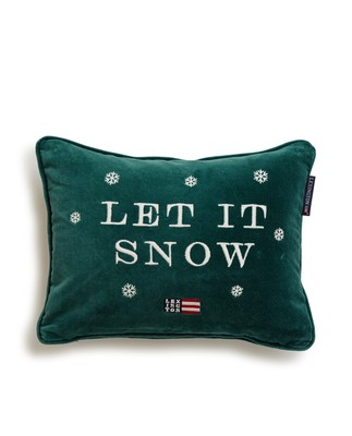 Let it Snow Sham, Green