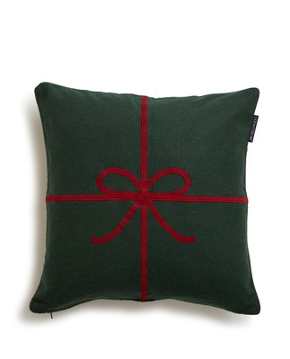 Holiday Bow Sham, Green