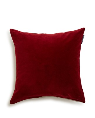 Holiday Velvet Sham, Red