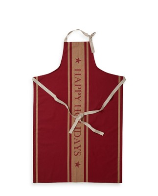 Holiday Lexington Apron High, Red