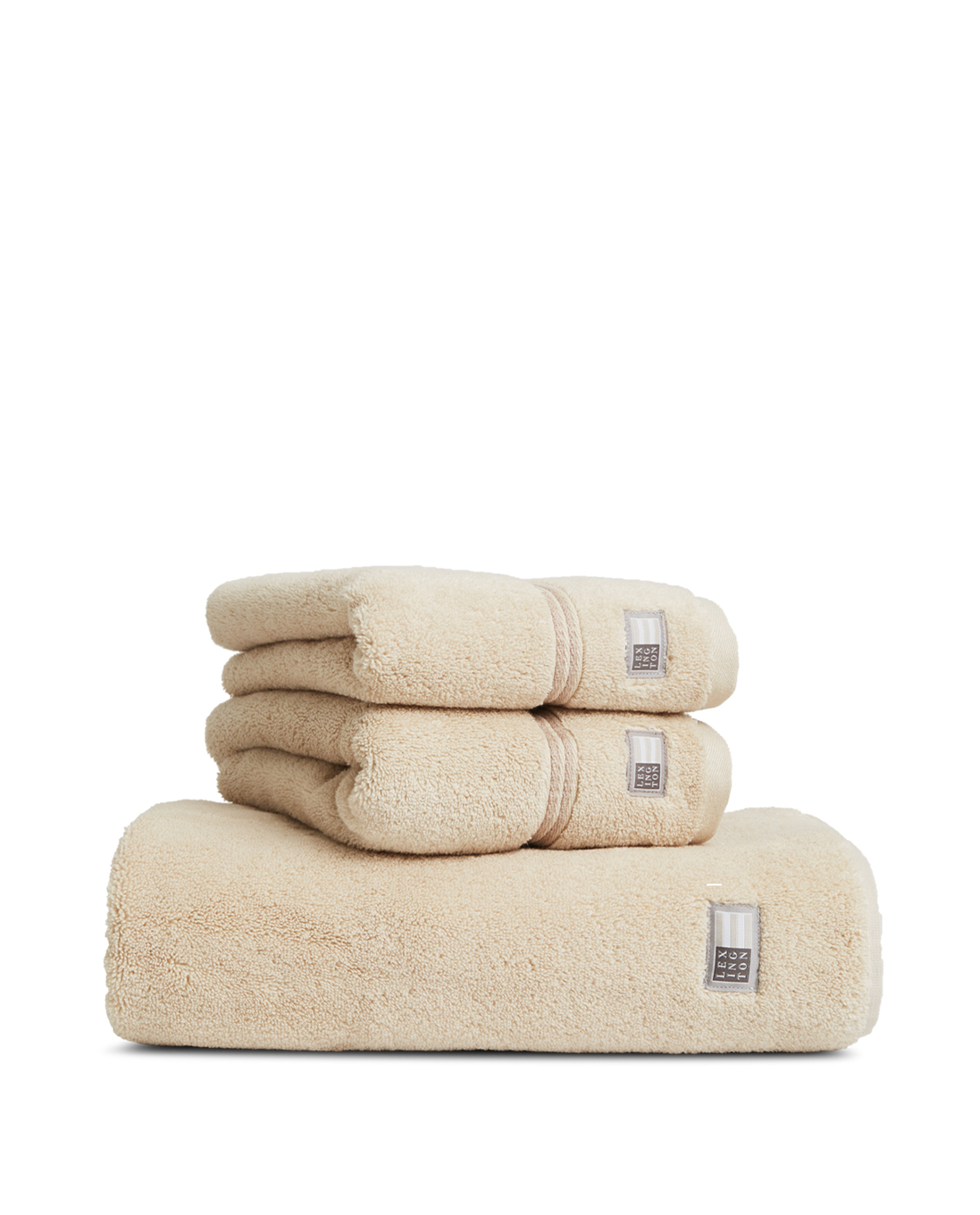 Lexington Hotel Towel Beige/Beige