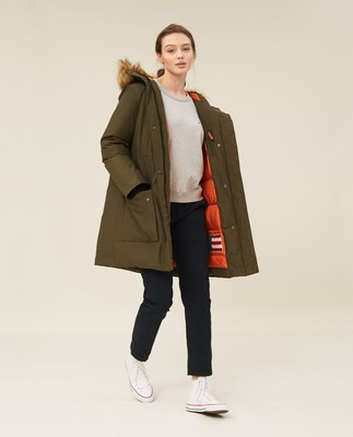 Estelle Down Parka, Green