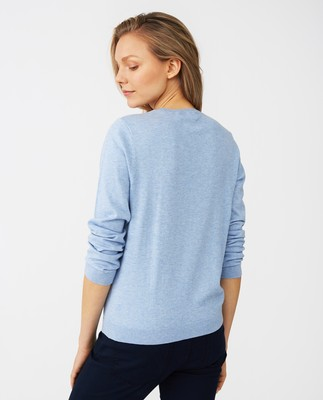 Marline Sweater, Light Blue Melange