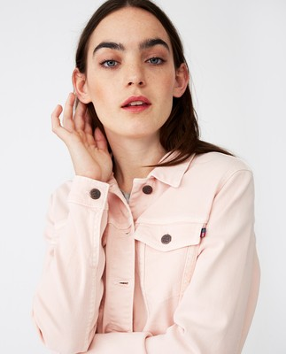 Marcie Pink Denim Jacket