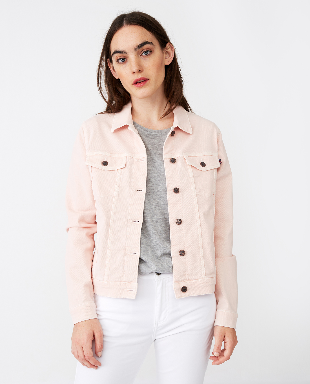 Marcie Pink Denim Jacket