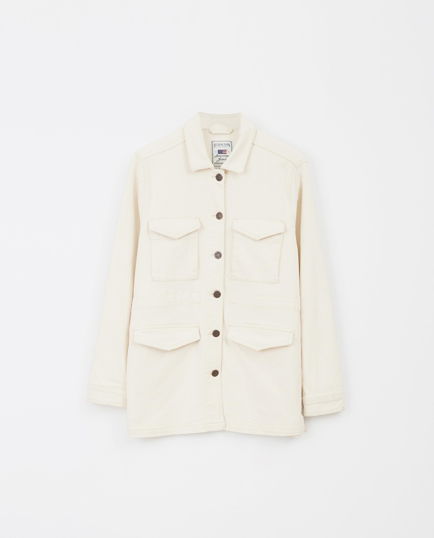 Raven Jacket, White