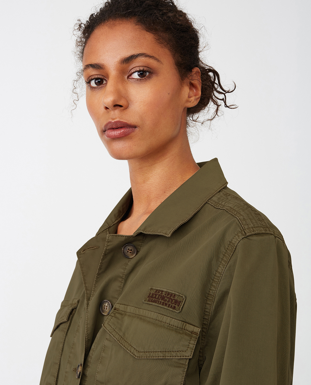 Raven Cargo Jacket, Green