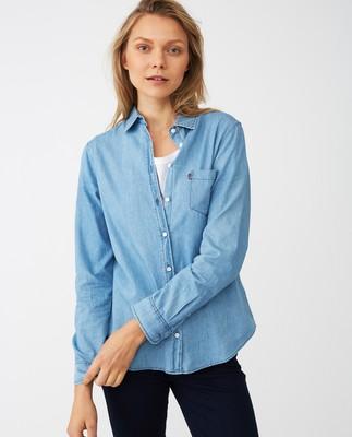 Emily Denim Shirt