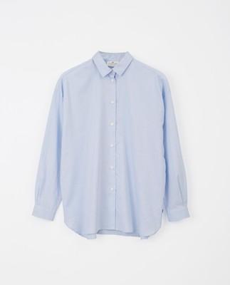 Edith Lt Oxford Shirt, Light Blue