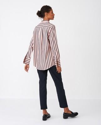 Misha Shirt, Pink Multi Stripe