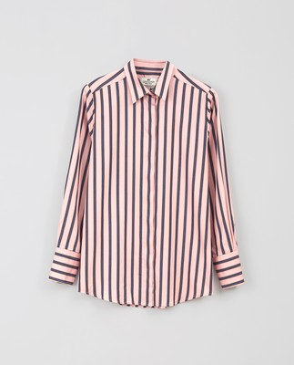 Misha Shirt, Pink Multi Stripe