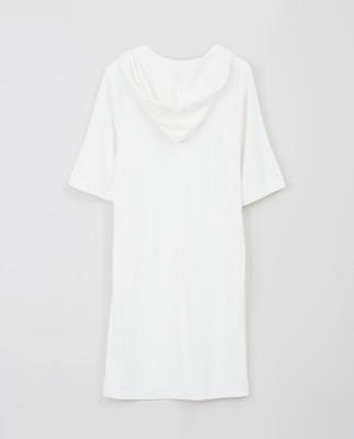 Petra Terry Dress, White