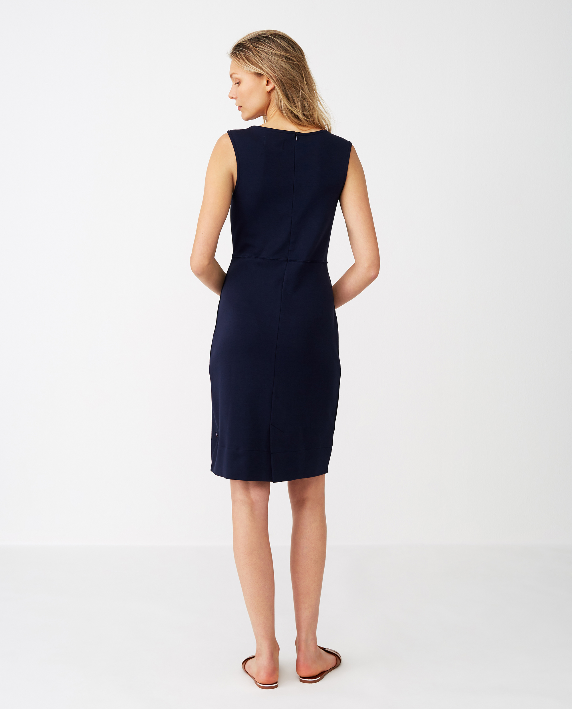 Nellie Tubular Dress, Dark Blue