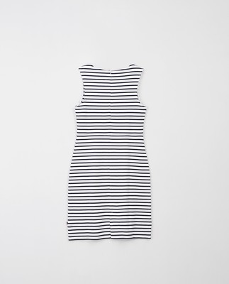 Nellie Tubular Dress, Blue/White Stripe