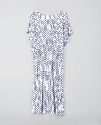 Rebecca Blue Flower Dress