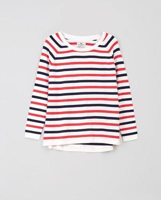 Lea Cotton/Cashmere Sweater, Mutli