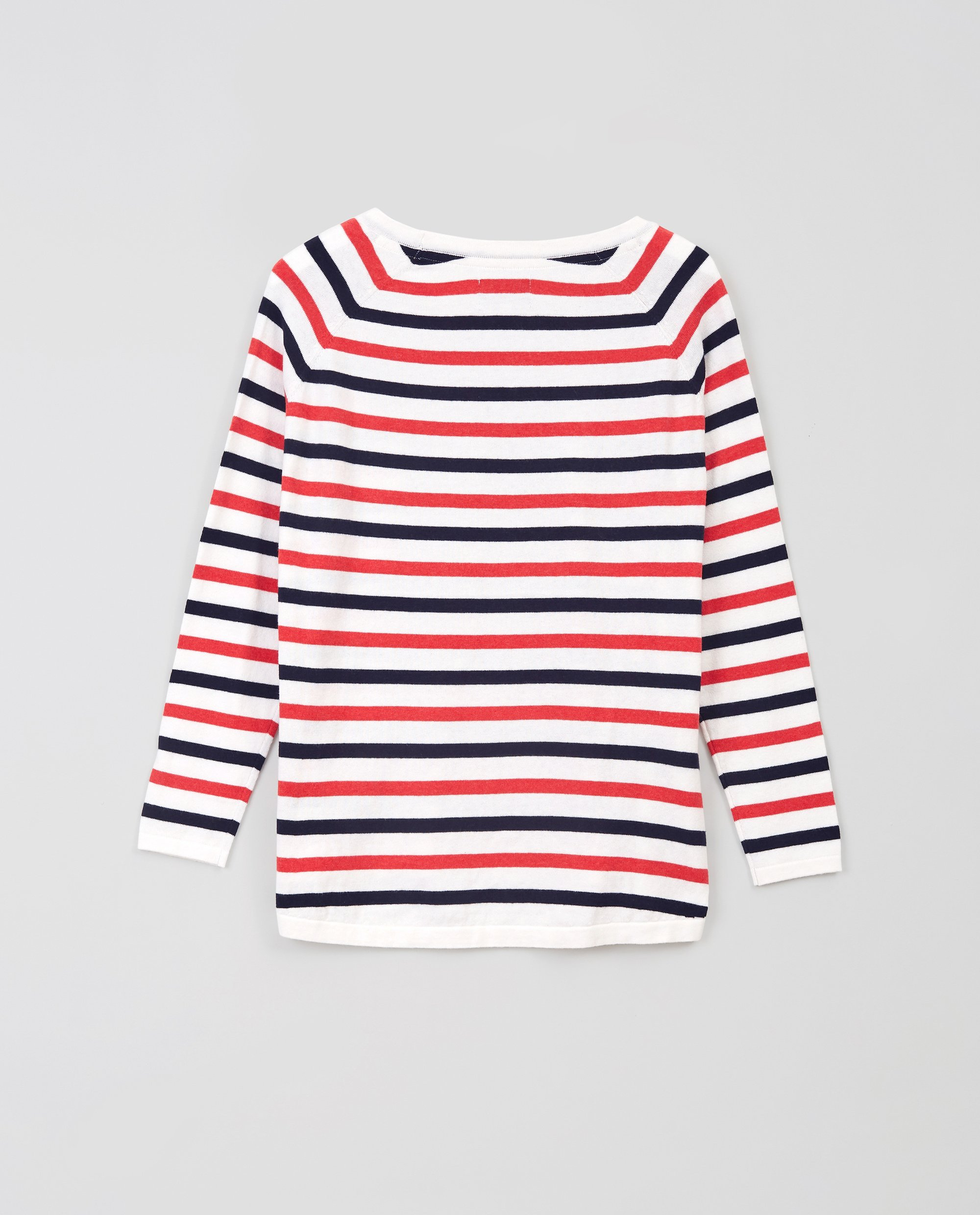Lea Cotton/Cashmere Sweater, Mutli