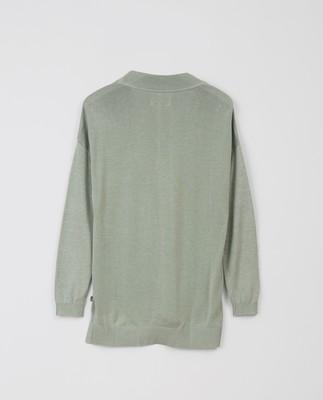 Ana V-neck Sweater, Green