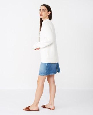 Lova Sweater, White