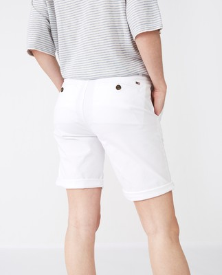 Mary Shorts, White