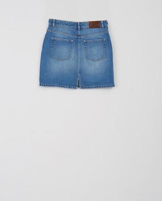 Alexa Blue Denim Skirt