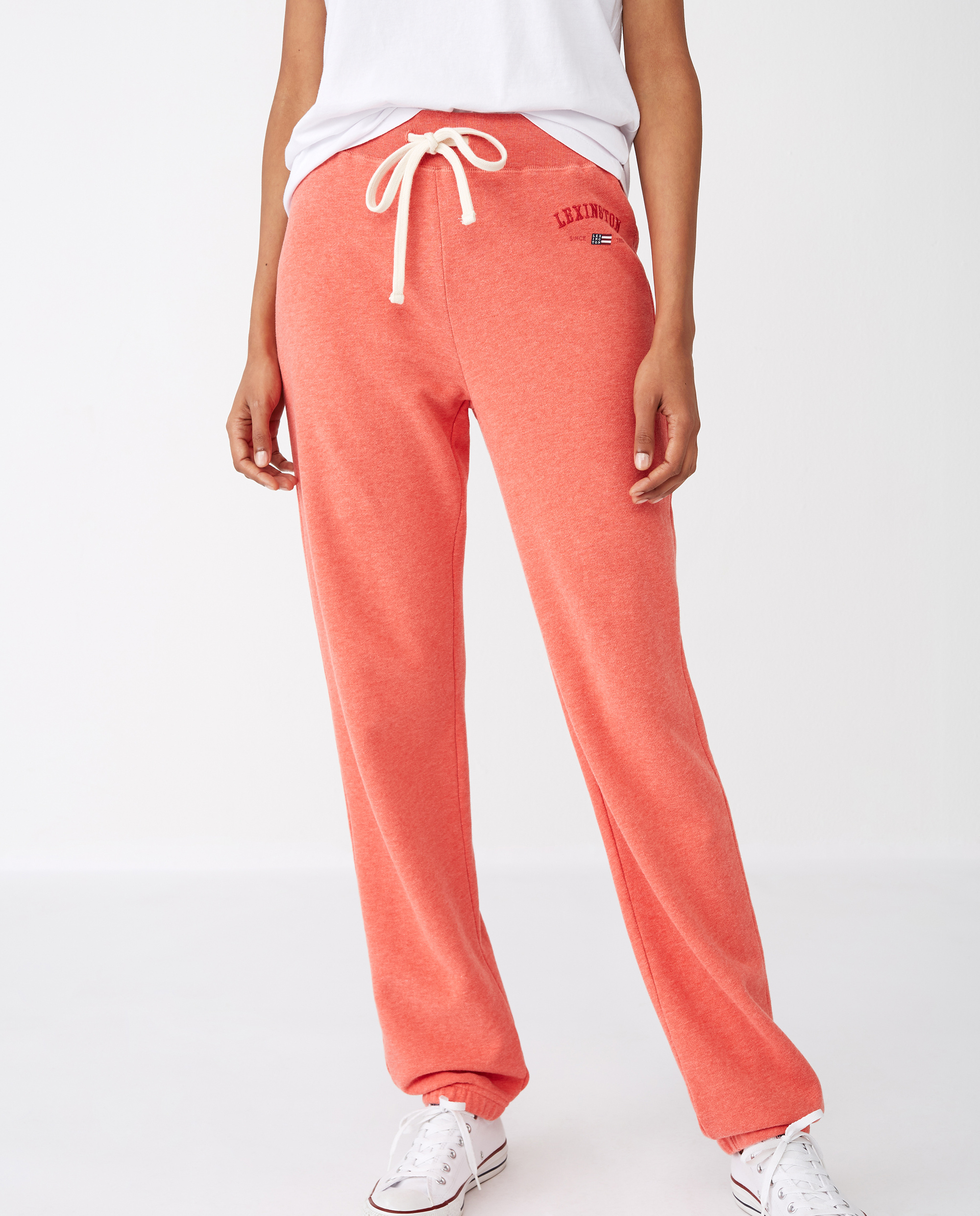 Jenna Pants, Red Melange