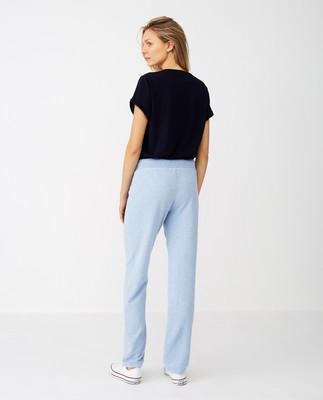 Jenna Pants, Light Blue Melange