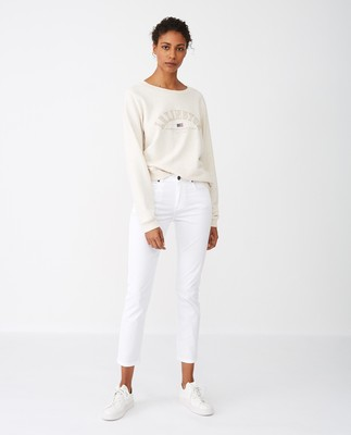 Chanice Sweatshirt, Light Beige Melange