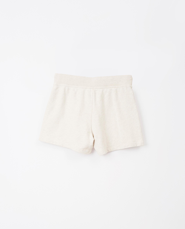 Naomi Shorts, Light Beige Melange