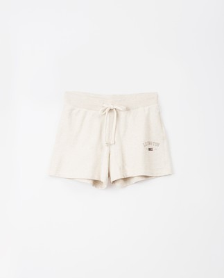 Naomi Shorts, Light Beige Melange