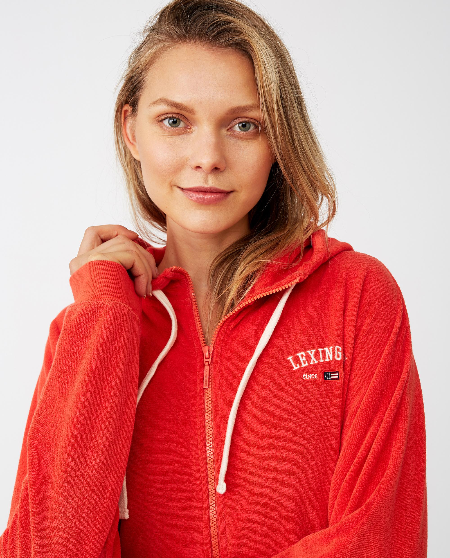 Carolin Terry Hoodie, Red