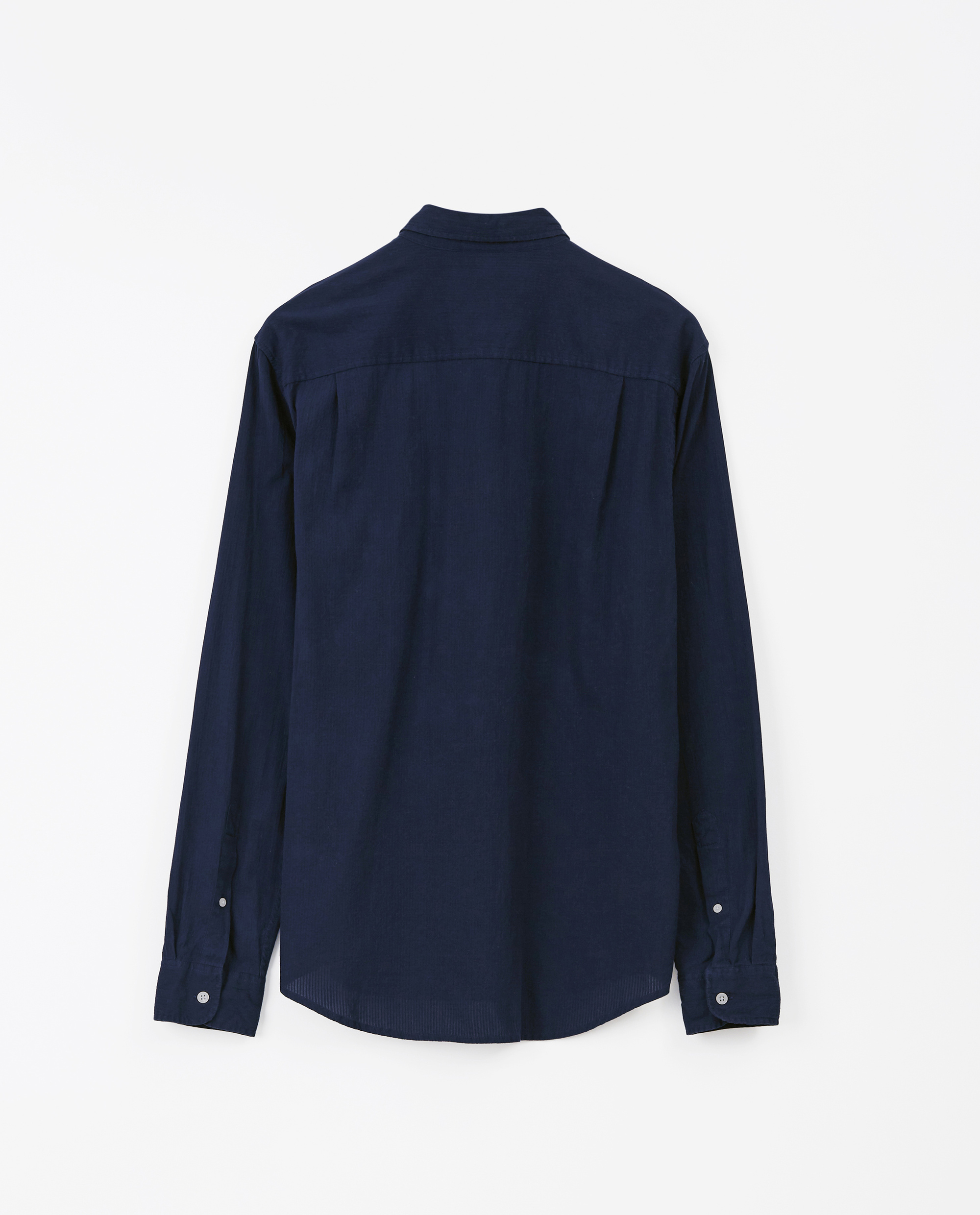 Kyle Oxford Shirt, Dark Blue
