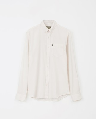 Ron Seersucker Shirt, Off White