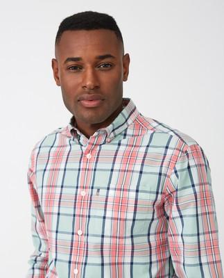 Dorian Shirt, Pink Multi Check