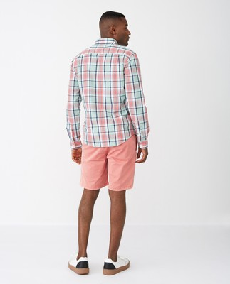 Dorian Shirt, Pink Multi Check