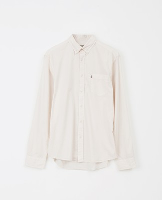 Manuel Poplin Shirt, Off White