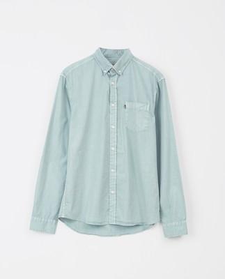 Manuel Poplin Shirt, Turquoise