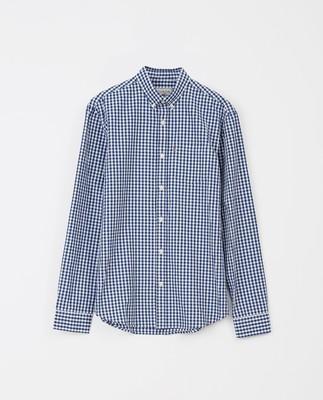 Stewart Shirt, Blue/White Check