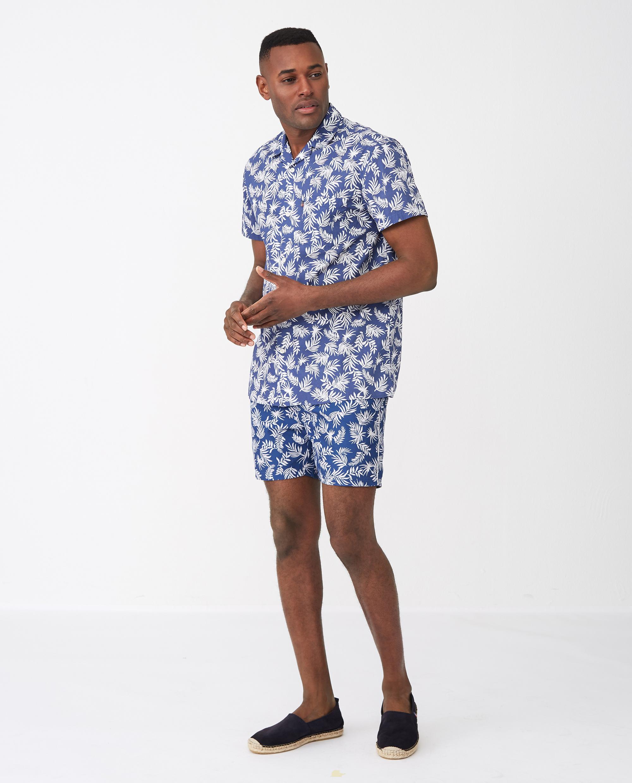 Pablo Shirt, Tropical Print