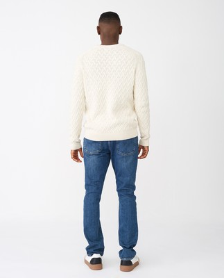 Jerry Sweater, Offwhite
