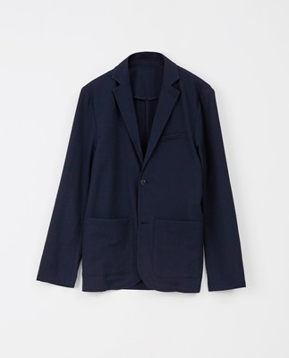 Frank Seersucker Jacket, Dark Blue