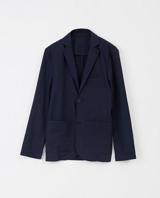 Frank Seersucker Jacket, Dark Blue