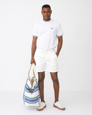 Clifford Shorts ,White