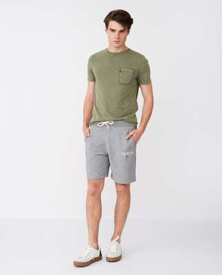 James Jersey Shorts, Gray Melange