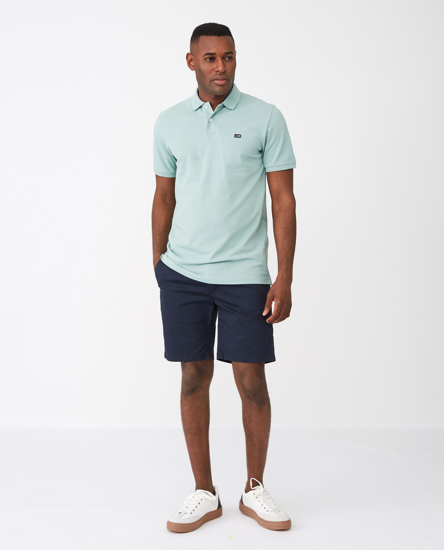 Jeromy Polo Shirt, Turquoise