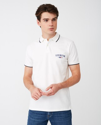 Mitch Polo Shirt, White
