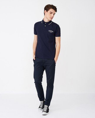 Mitch Polo Shirt, Dark Blue