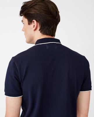 Mitch Polo Shirt, Dark Blue
