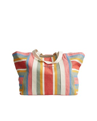 Beachway Bag, Multi Stripe
