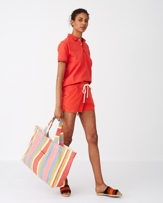 Hollyoak Shopper, Multi Stripe